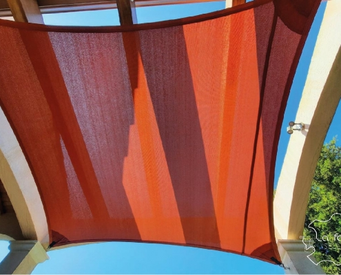 toile d'ombrage terrasse